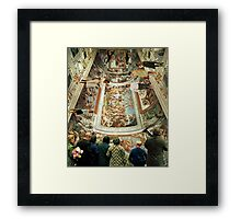 Grand Tour in the Virtual Age Framed Print