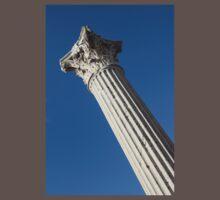 Classical Corinthian Column - Ancient Pompeii Graceful Beauty Left Baby Tee