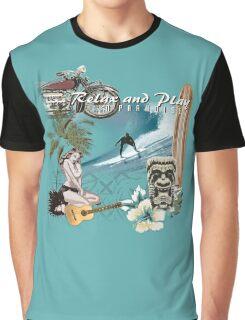 retro beach Graphic T-Shirt