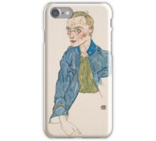 Egon Schiele - One-Year Volunteer Lance-Corporal 1916 iPhone Case/Skin