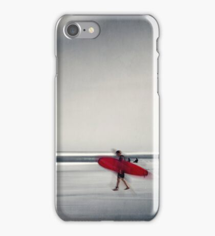 red surfboard 16 iPhone Case/Skin