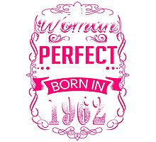 Perfect woman born in  1962 - 54th birthday Photographic Print