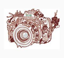 doodle camera One Piece - Short Sleeve