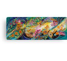 The Dance Of Butterflies Canvas Print