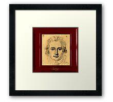 Young Goethe Framed Print