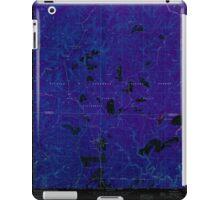 USGS TOPO Map Alabama AL Grayson 304032 1960 24000 Inverted iPad Case/Skin