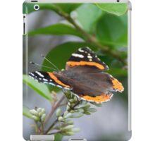 Red Admiral iPad Case/Skin