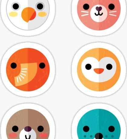 Smiley Faces - Set 1 Sticker