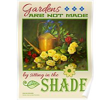 Garden Proverb Poster