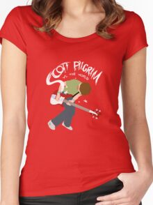 Scott Pilgrim vs the world Women's Fitted Scoop T-Shirt