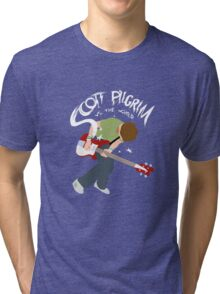 Scott Pilgrim vs the world Tri-blend T-Shirt