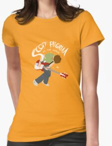 Scott Pilgrim vs the world Womens Fitted T-Shirt
