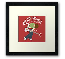 Scott Pilgrim vs the world Framed Print
