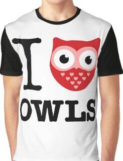 I love owls Graphic T-Shirt