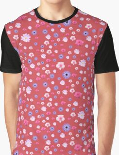 Mixture Roses and Other Flowers Graphic T-Shirt