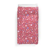 Mixture Roses and Other Flowers Duvet Cover