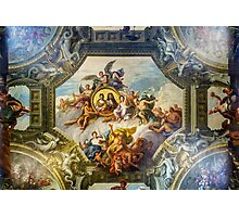 Painted Hall Photographic Print