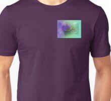 Serenity Prayer Morning Glory Collage Unisex T-Shirt