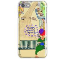 Oh Dear, Where's My Bus Fare iPhone Case/Skin
