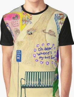 Oh Dear, Where's My Bus Fare Graphic T-Shirt