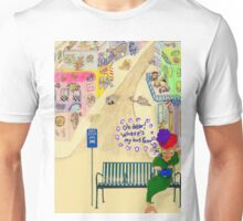 Oh Dear, Where's My Bus Fare Unisex T-Shirt