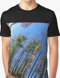 Autumn in the Rear Window Graphic T-Shirt