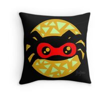 Super-nacho'spider Throw Pillow