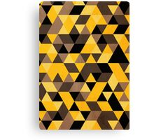 Hufflepuff pattern Canvas Print