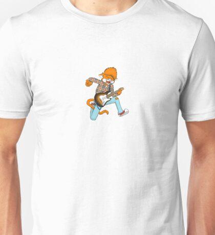 Collegiate Cat Sticker No. 2 Unisex T-Shirt