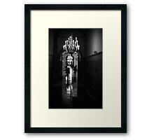 Capitol Hallway Framed Print
