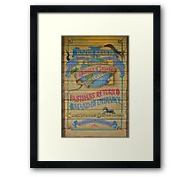 Jungle Cruise (Version 2) Framed Print