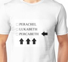Check Percabeth! Unisex T-Shirt