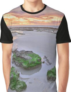 cable beach after sunset colours  Graphic T-Shirt