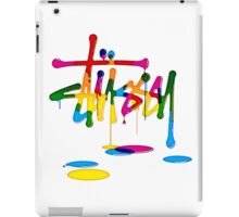 Stussy Colorful Logo Unique! iPad Case/Skin