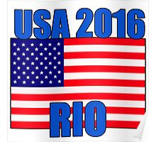 USA 2016 RIO Olympics Poster