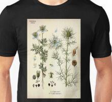 Köhler's Medizinal Pflanzen in naturgetreuen Abbildungen mit kurz erläuterndem Texte  Atlas zur Pharmacopoea 1883 1914 V3 066 Nigella Sativa and Damascena Unisex T-Shirt