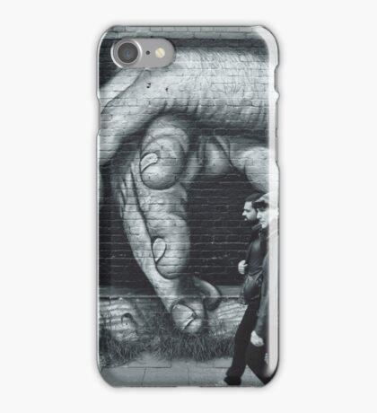Breaking Through. (Berlin Wall) iPhone Case/Skin
