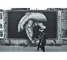 Breaking Through. (Berlin Wall) Photographic Print