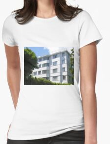 London Deco: Residences - Stanbury Court 2 Womens Fitted T-Shirt