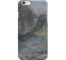 Auguste Renoir - Snow-covered Landscape 1870 - 1875 iPhone Case/Skin