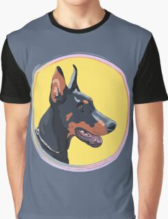 Dog Doberman Pinscher Graphic T-Shirt