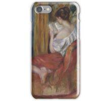 Auguste Renoir - Reading Woman  1900 iPhone Case/Skin