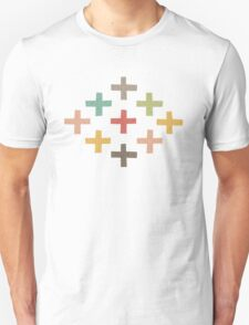 Hipster Crosses Unisex T-Shirt