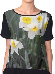 Spring Flower Series 38 Chiffon Top