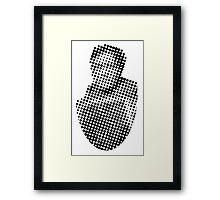 News Bust: Ernest S. Framed Print