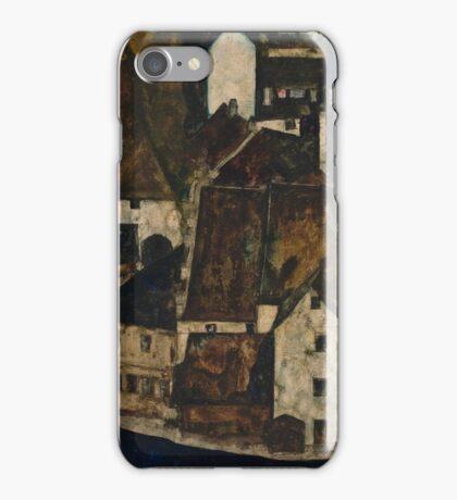 Egon Schiele - Dead City III, City on the Blue River III 1911  Egon Schiele   Landscape iPhone Case/Skin