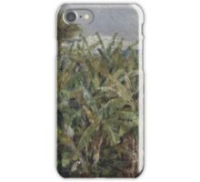 Auguste Renoir - Field of Banana Trees 1881  Impressionism, Landscape iPhone Case/Skin