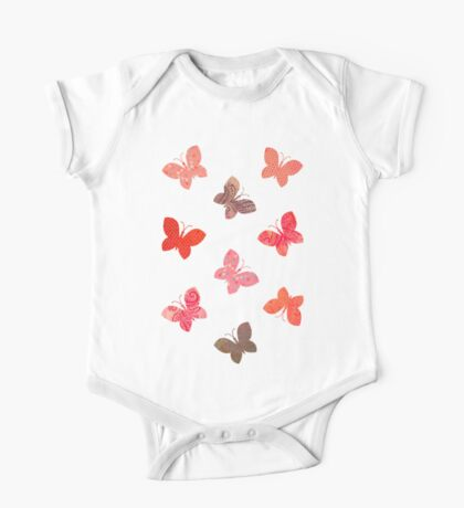 Butterfly Picnic One Piece - Short Sleeve