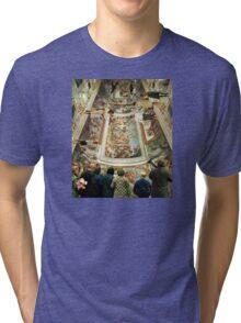 Grand Tour in the Virtual Age Tri-blend T-Shirt