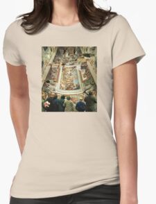 Grand Tour in the Virtual Age Womens Fitted T-Shirt